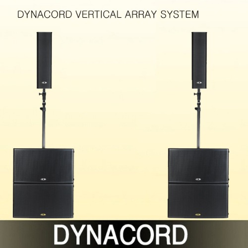 DYNACORD VERTICAL ARRAY SYSTEM