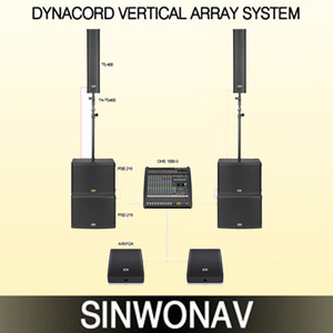 VERTICAL ARRAY WITH AXM12A/TS-400+PSD218+PSE218+AXM12A+CMS MIXER