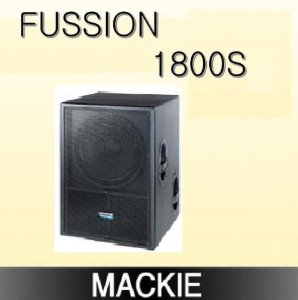 MACKIE/ Fussion1800S